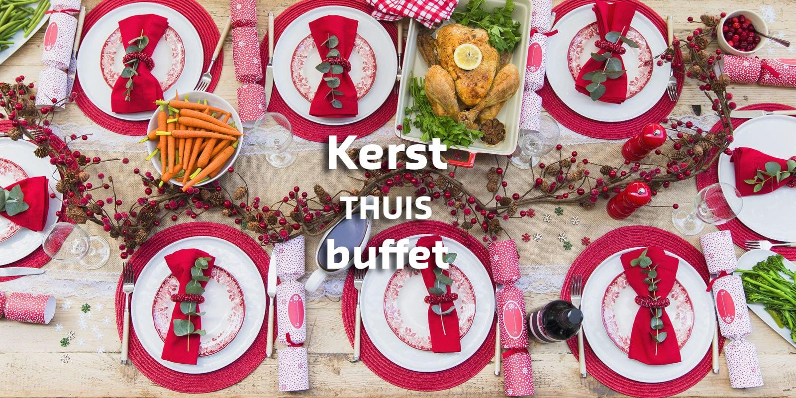 Kerst Tafel Met Tekst 2 Egbert Jan Catering